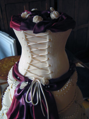 Wedding Cake, detail