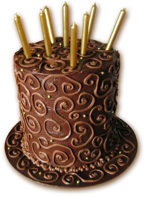 Chocolate Birthday Cake Gallery